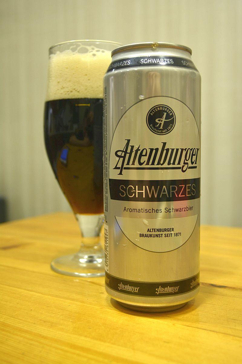 Пиво Altenburger Schwarze