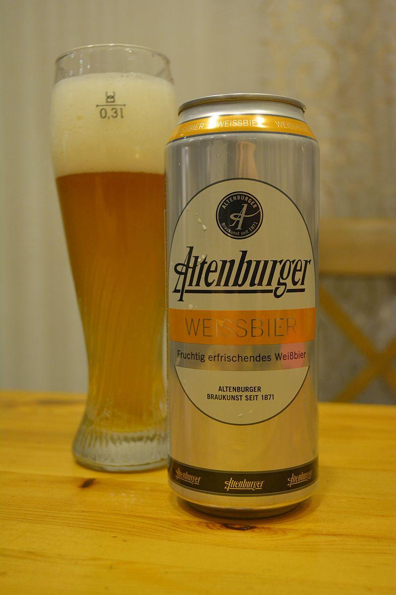 Пиво Altenburger Weissbier