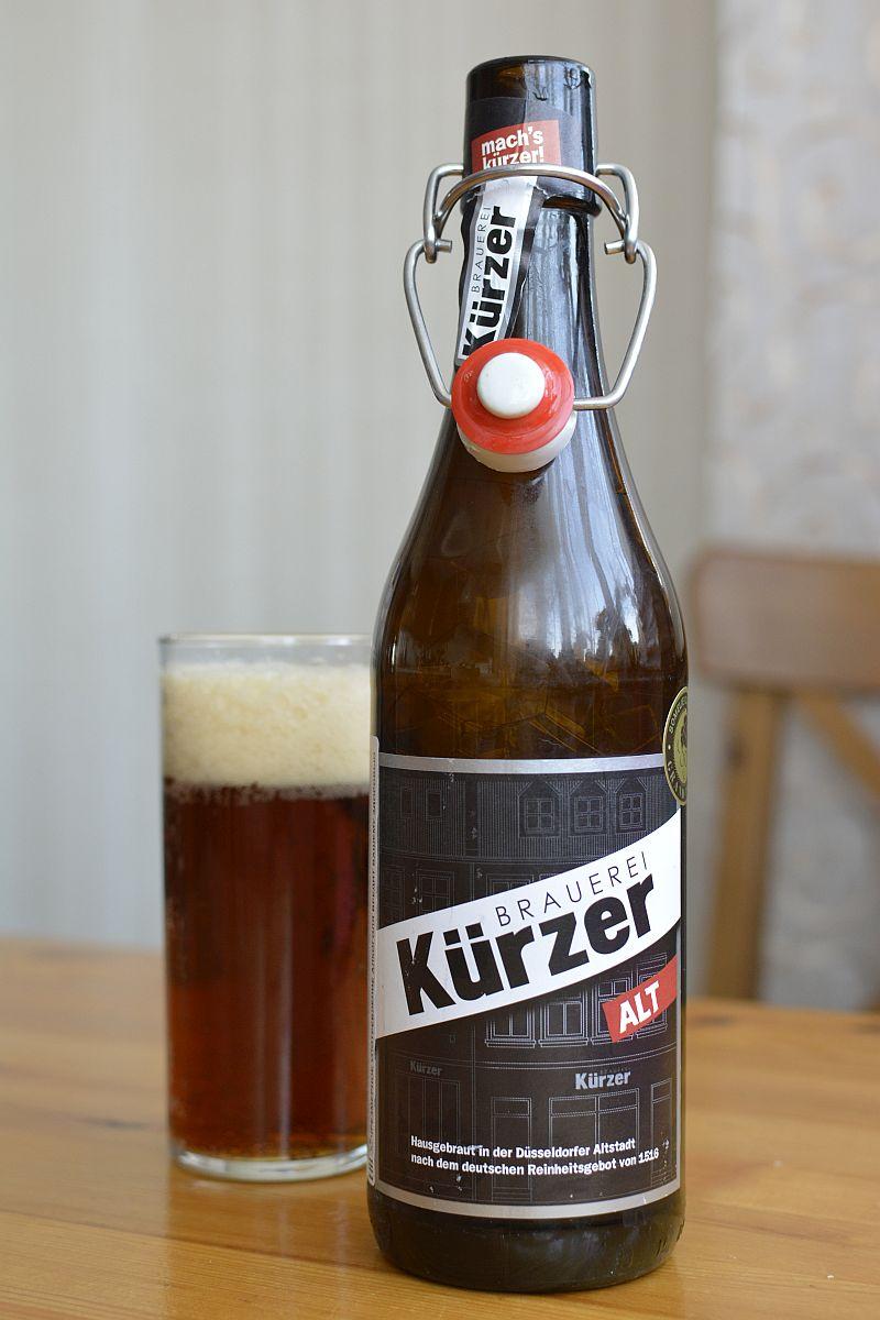 Пиво Kürzer Alt