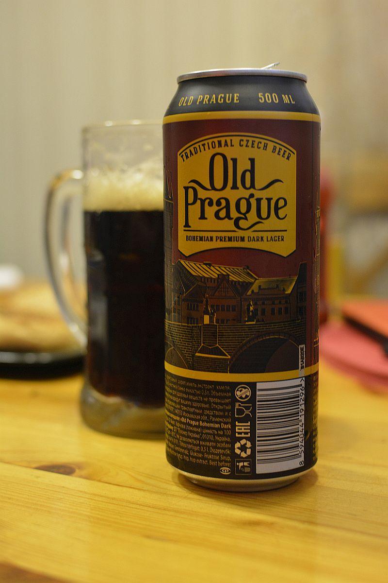Пиво Old Prague Bohemian Premium Dark Lager