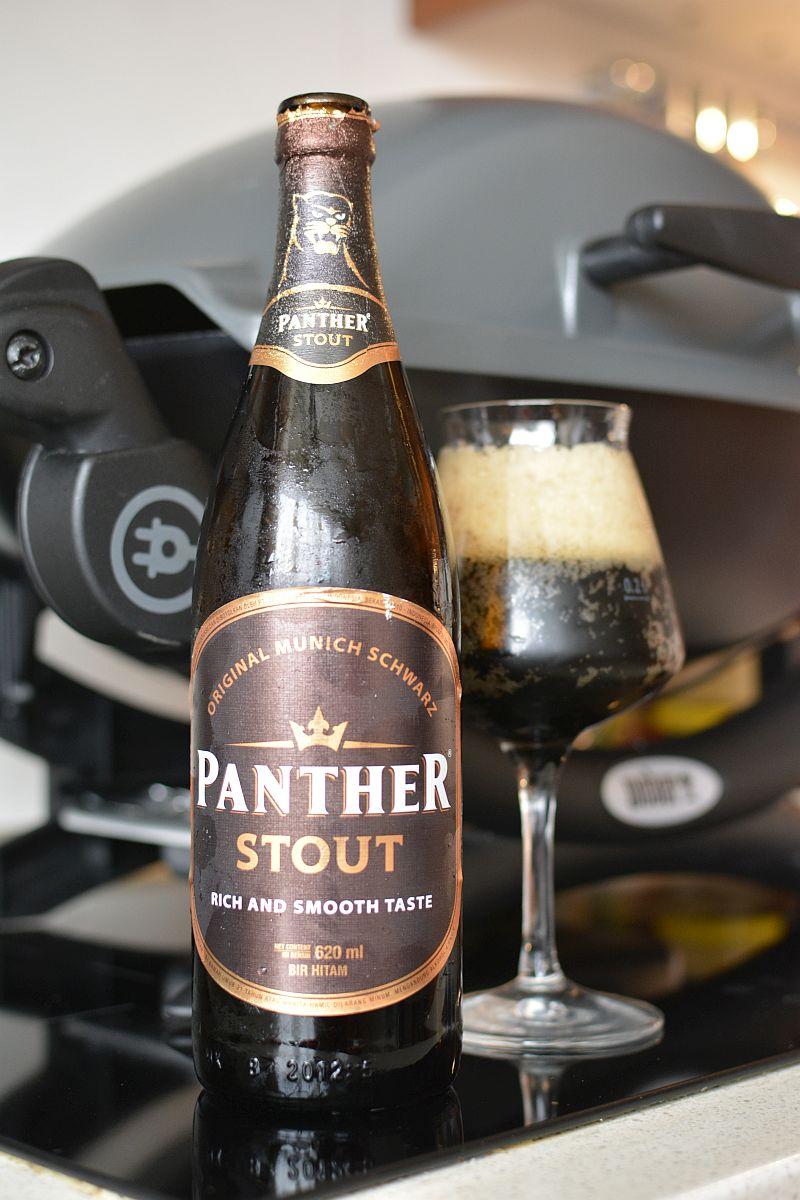Индонезийское Пиво Panther Stout