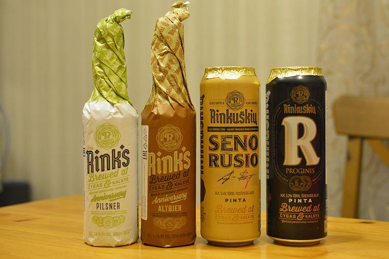 Литовское пиво Rinkuškiai