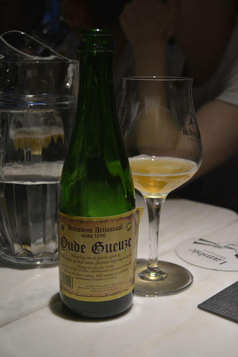 Пиво Hanssens Oude Gueuze