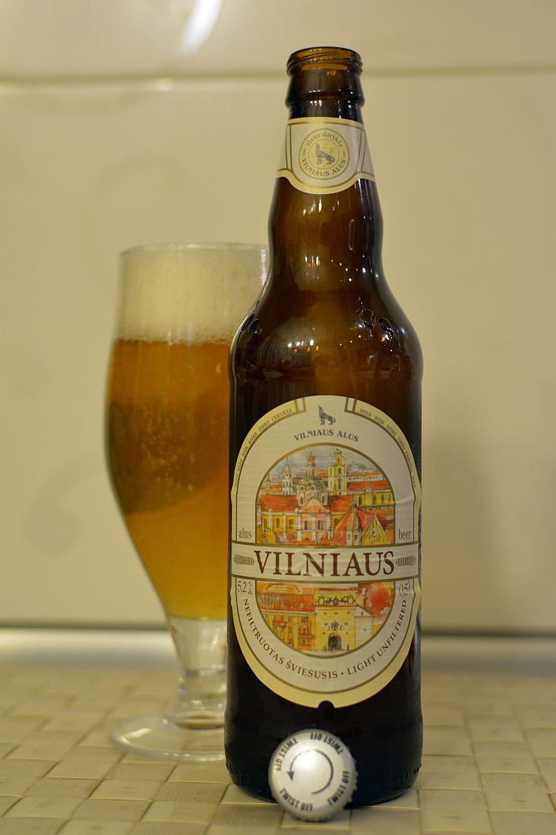 Пиво Vilniaus Nefiltruotas Šviesusis