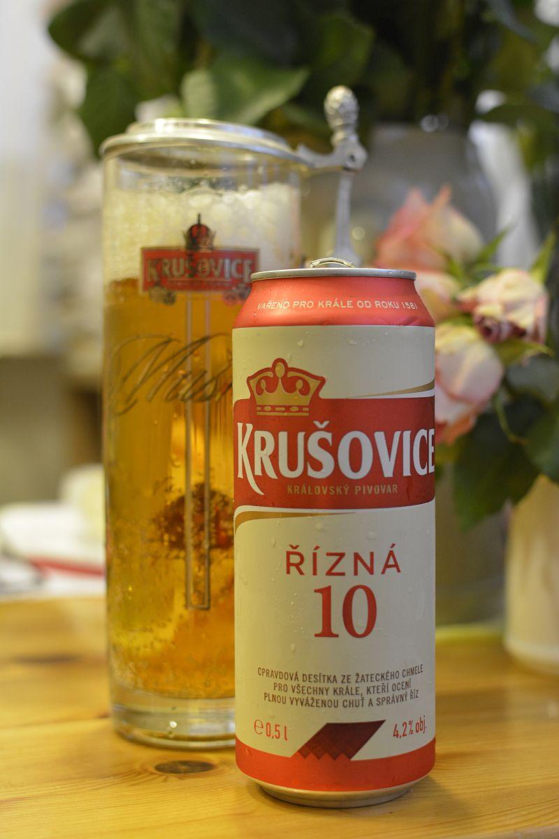 Пиво Krušovice Řízná 10