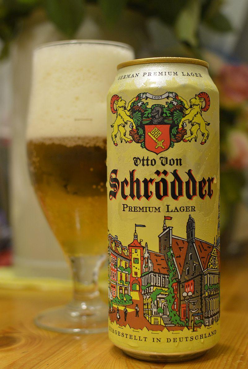 Пиво Otto Von Schrödder Premium Lager