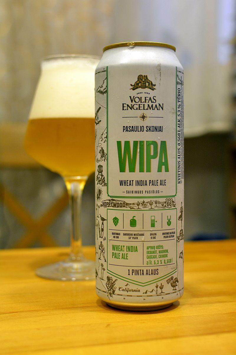 Пиво Volfas Engelman WIPA