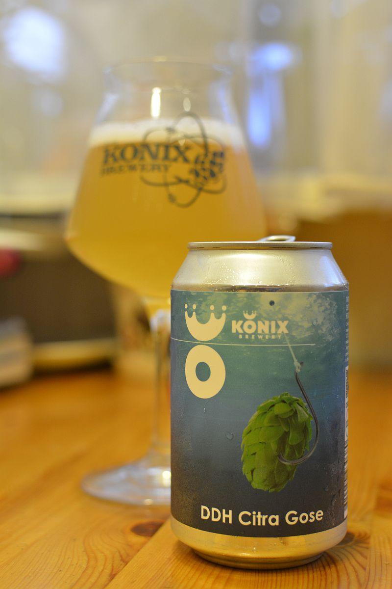 Пиво DDH Citra Gose от Konix