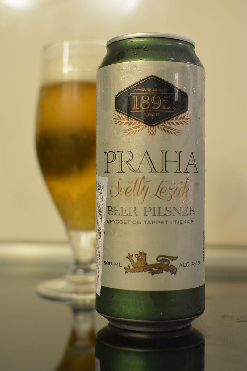 Пиво Praha Světlý ležák