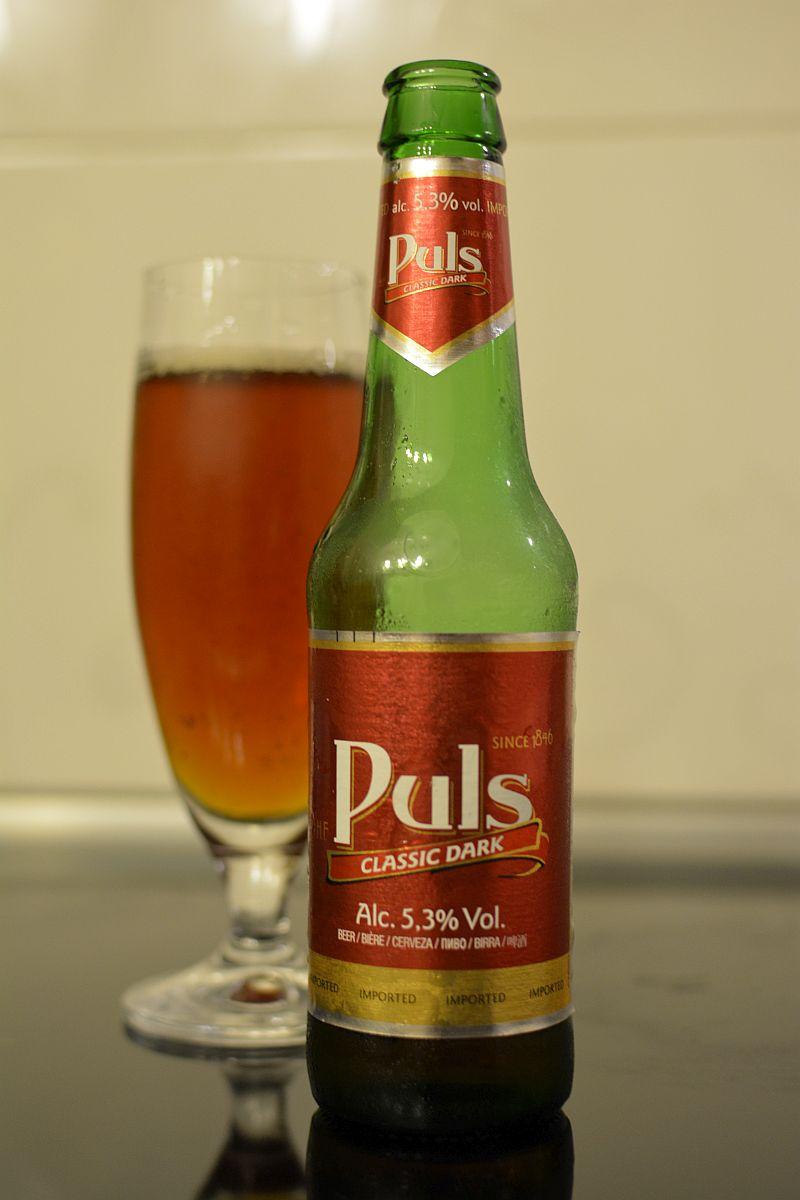 Пиво Puls Classic Dark