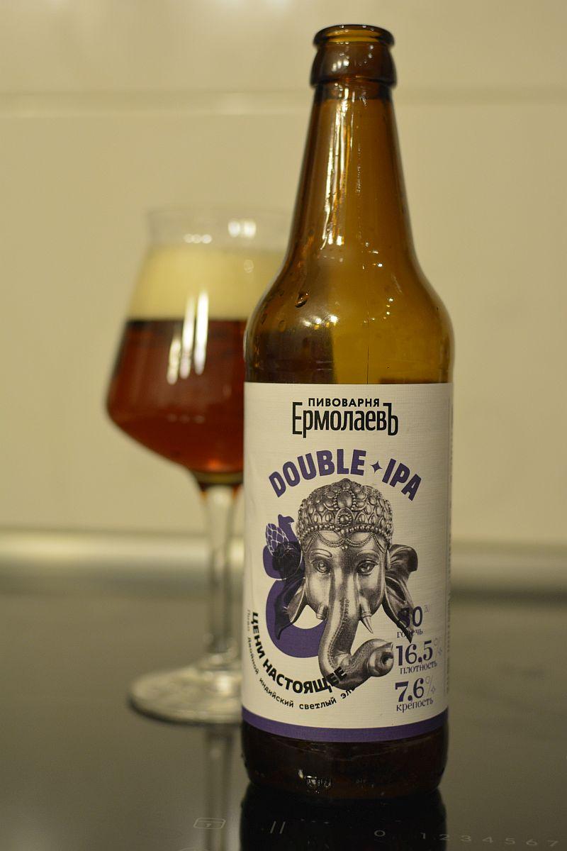Пиво Еромолаевъ Double IPA
