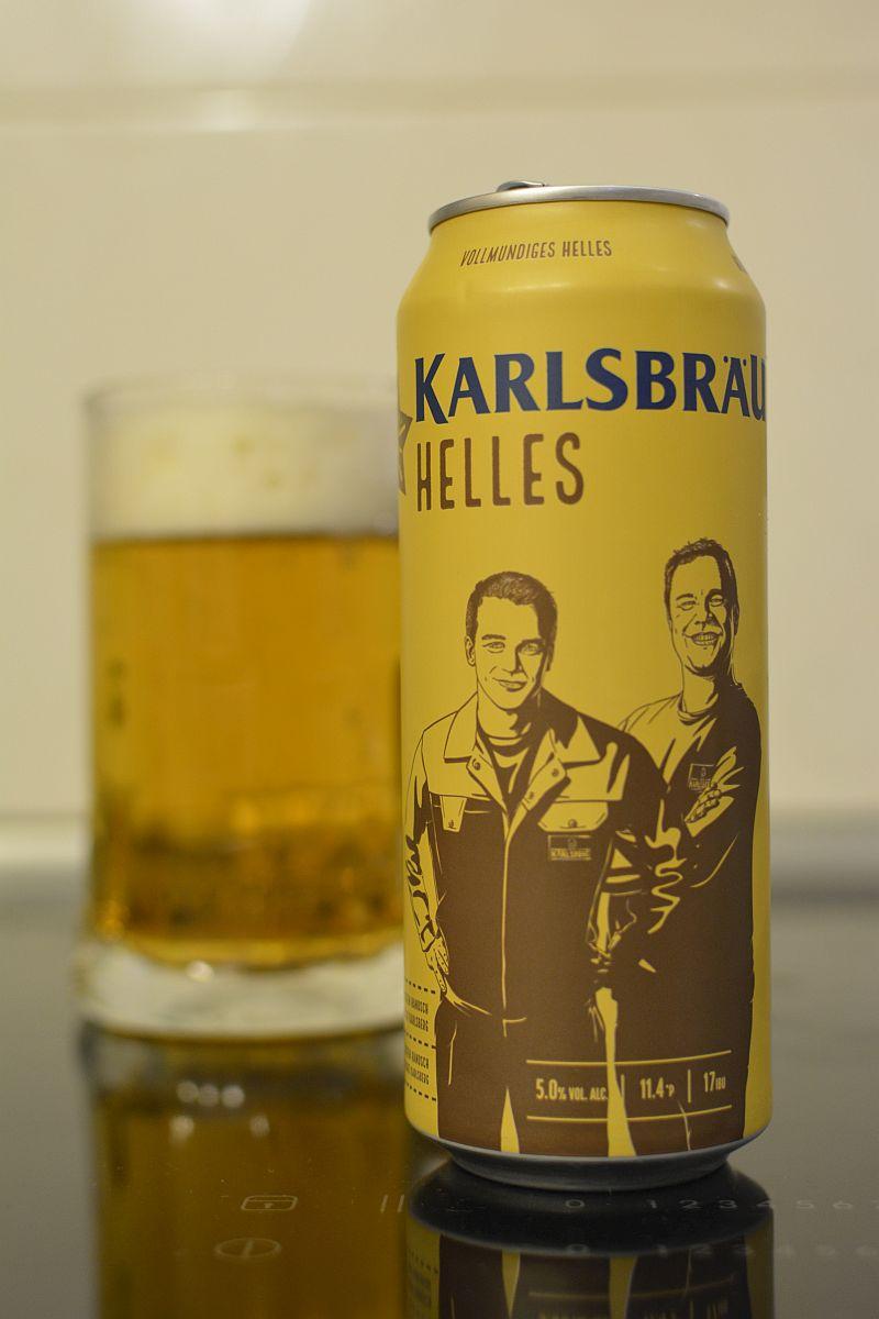 Пиво Karlsbräu Helles