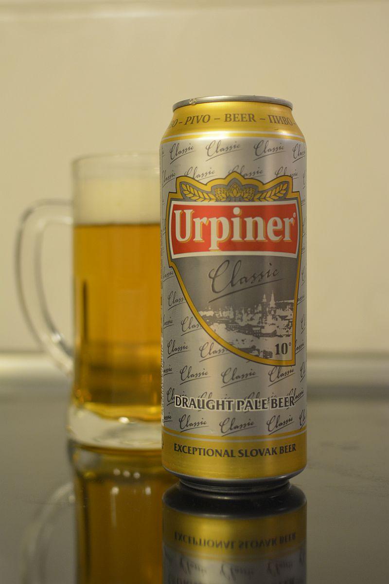 Пиво Urpiner Classic 10°