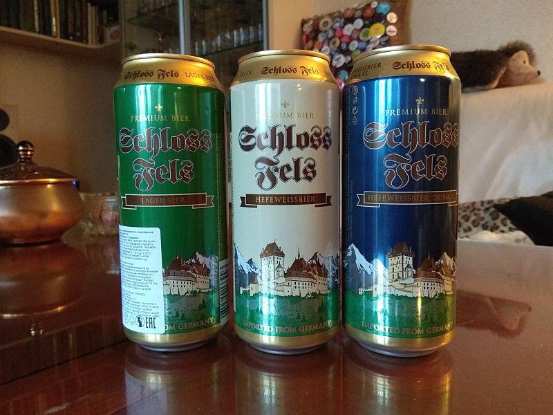Пиво Schloss Fels