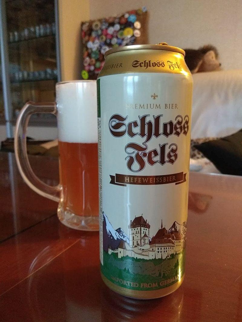 Пиво Schloss Fels Hefeweissbier