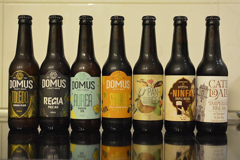 Испанское пиво от пивоварни Domus