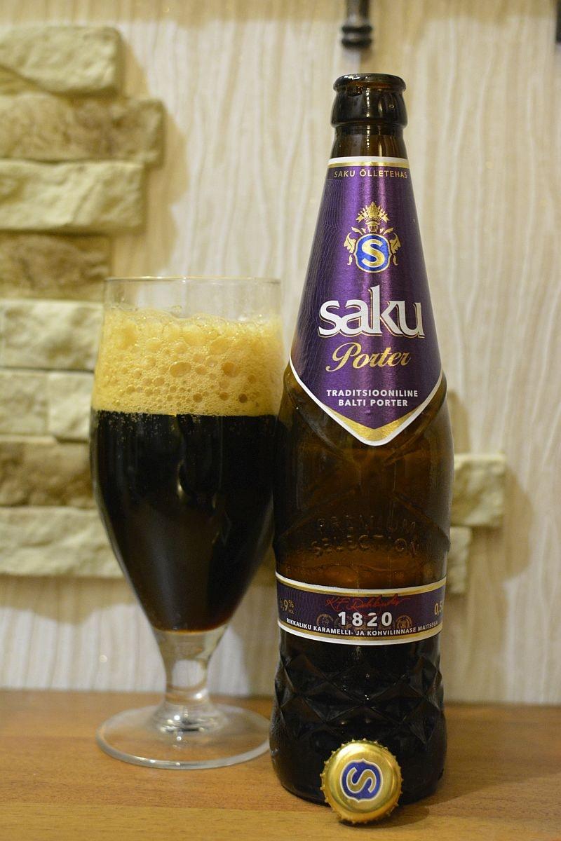 Пиво Saku Porter