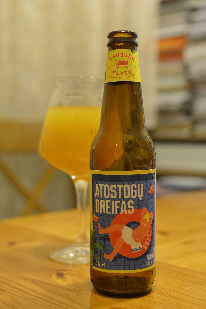 Пиво Atostogų Dreifas