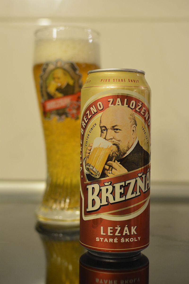 Пиво Březňák Světlý ležák