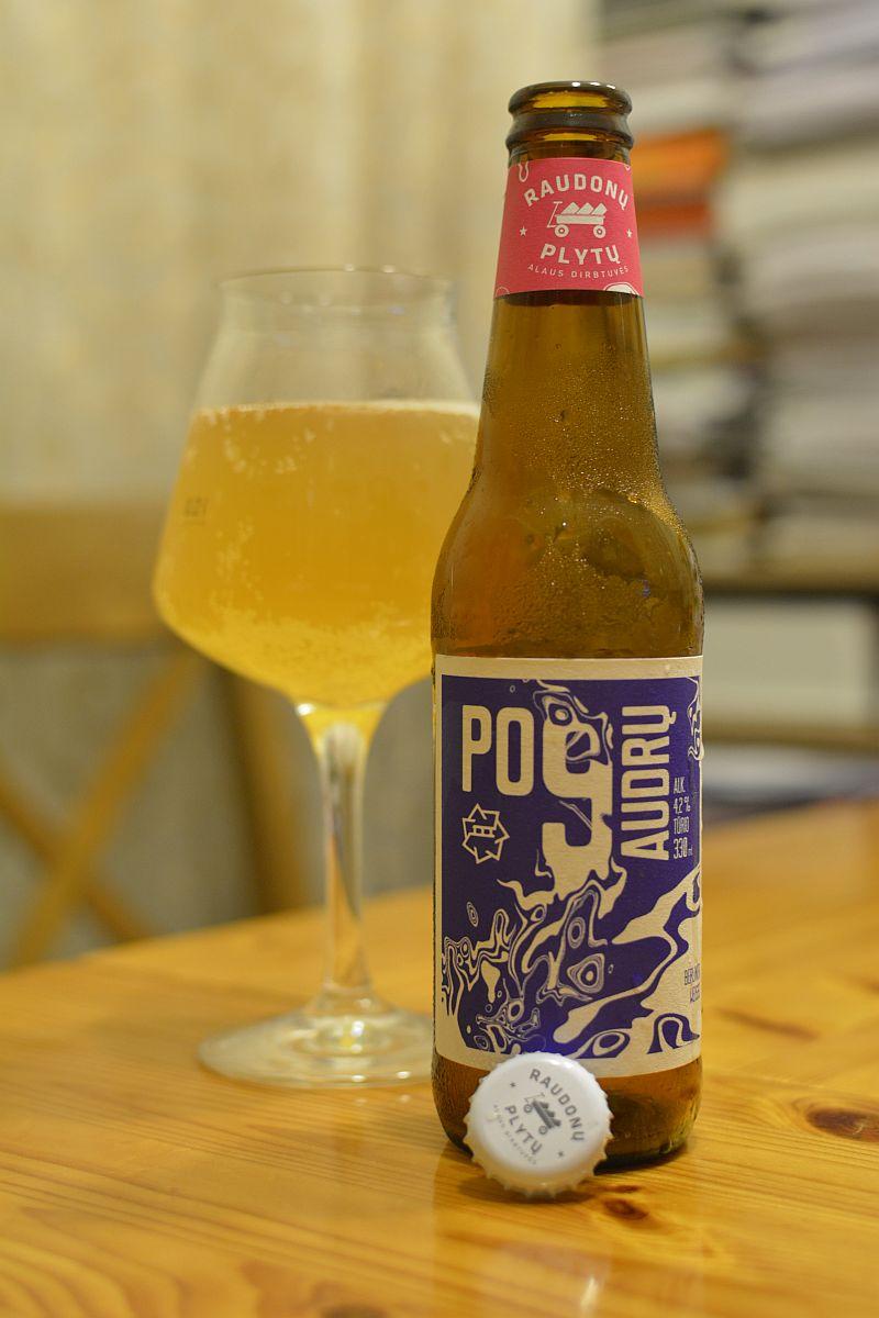 Пиво Po 9 Audrų