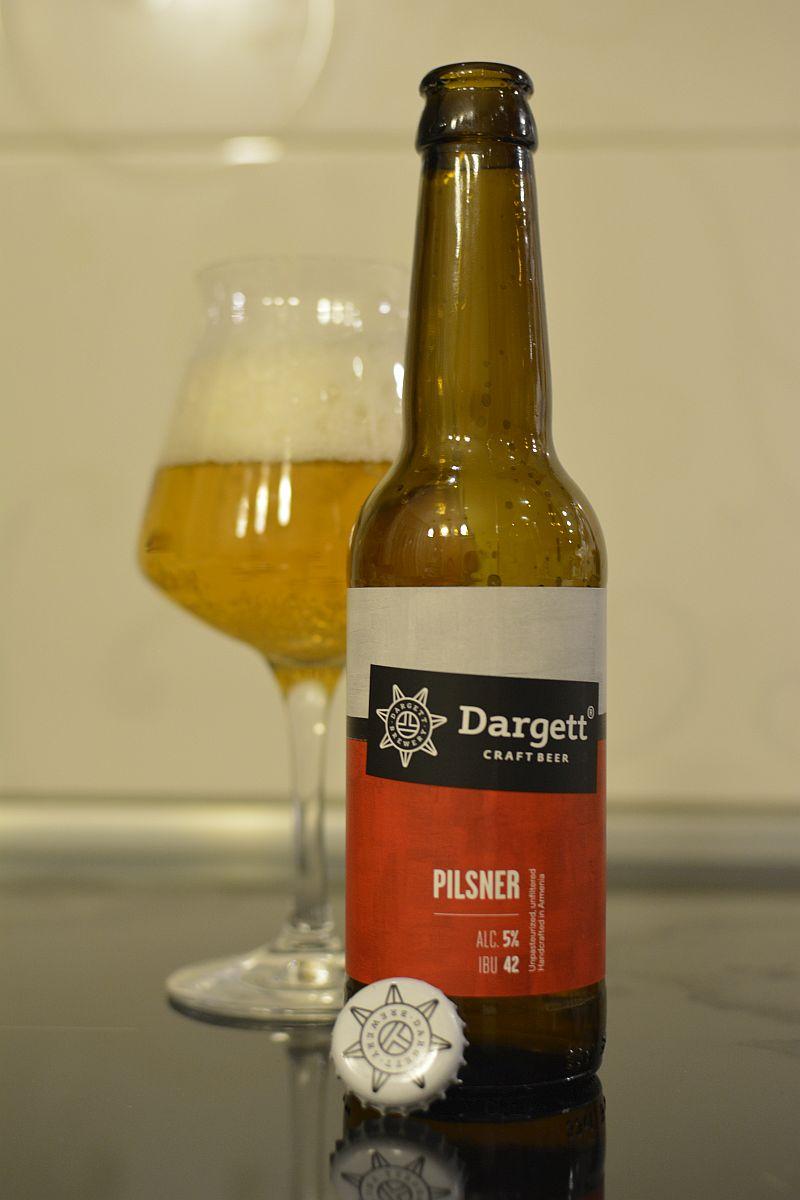 Пиво Dargett La Rapsodia Pilsner