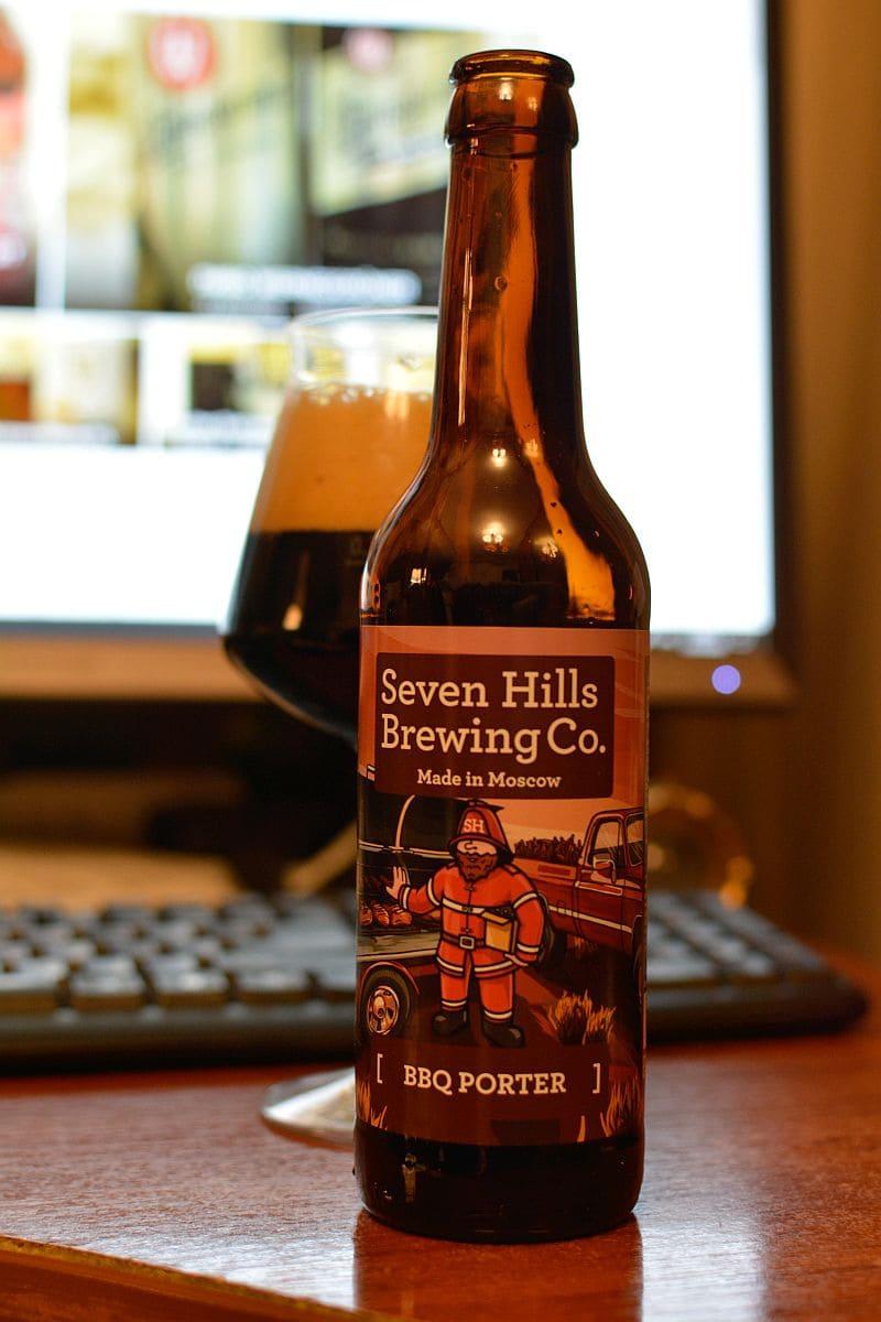Пиво BBQ Porter. Seven Hills