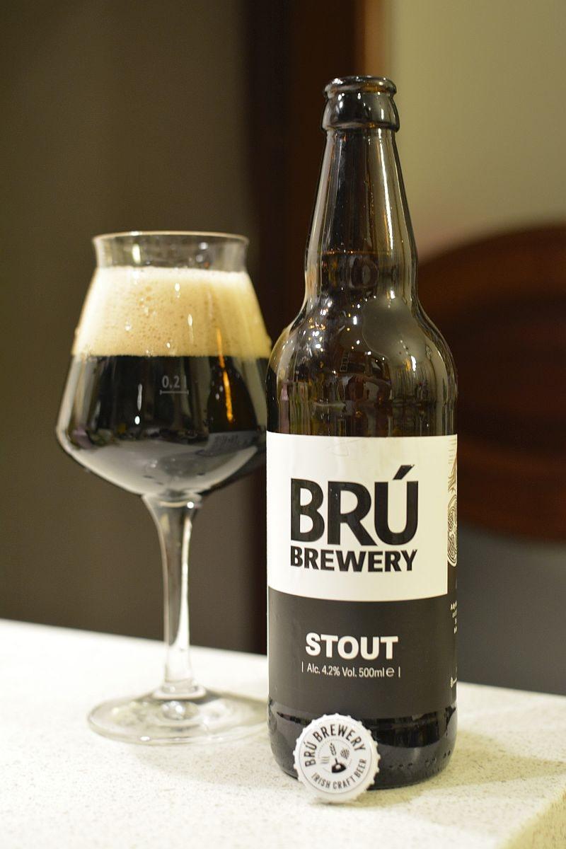 Пиво BRU Brewery Stout