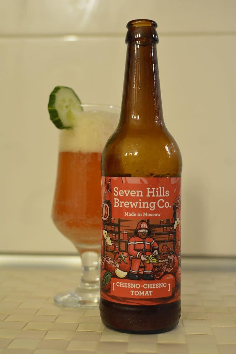 Пиво Chesno-Chesno Tomat. Seven Hills