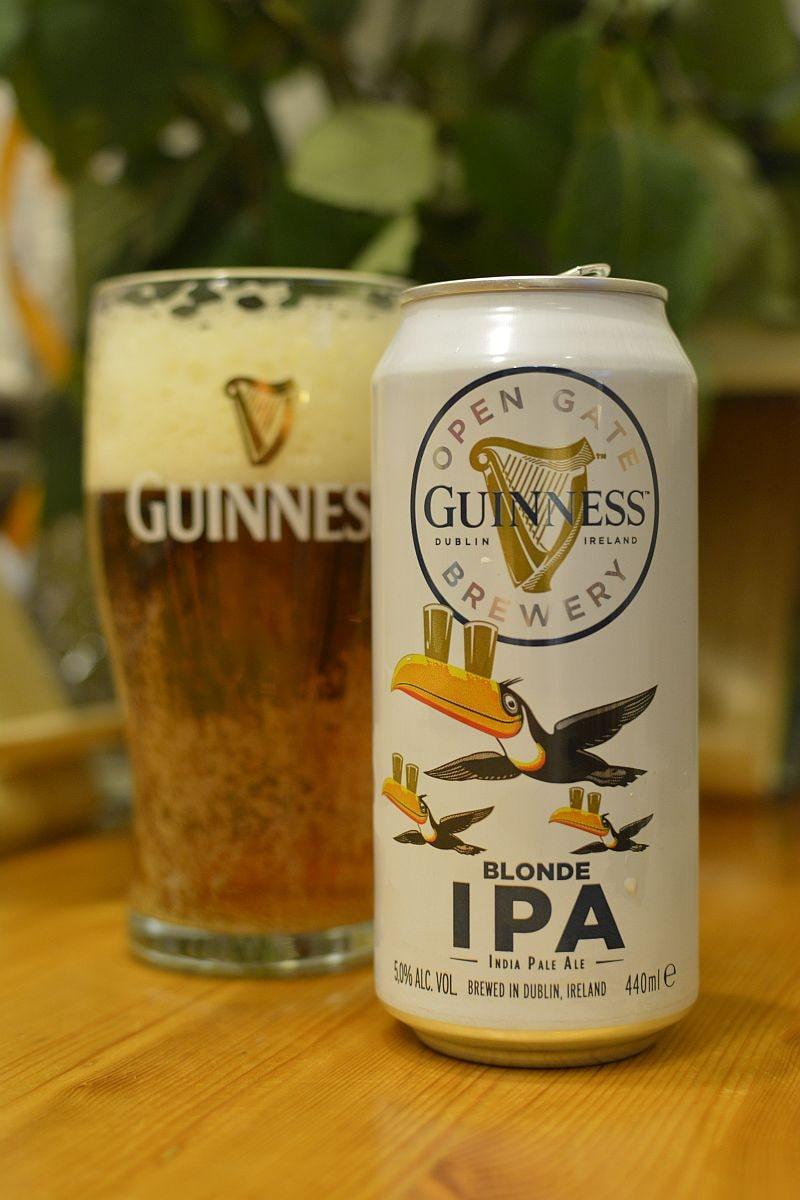 Пиво Guinness Blonde IPA