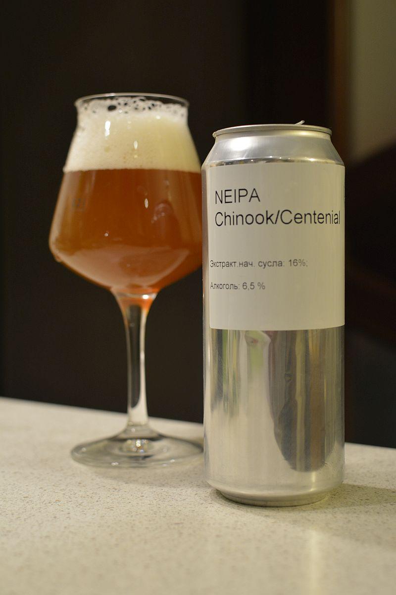 Пиво NEIPA Chinook/Centenial LaBEERint Brewery
