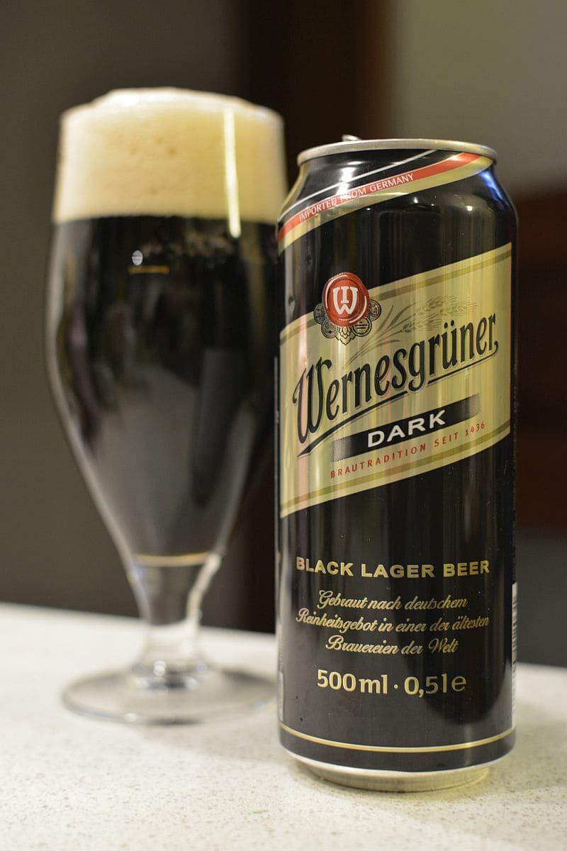 Пиво Wernesgrüner Dark