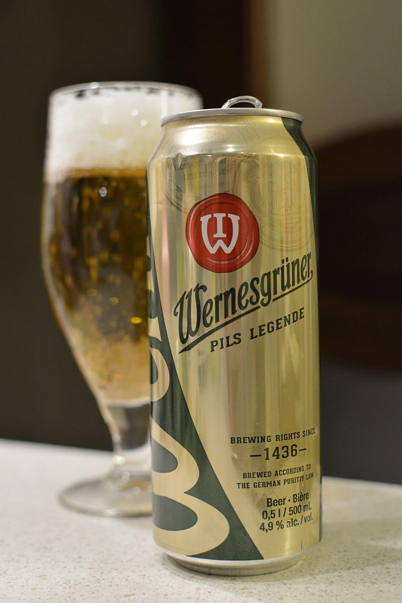 Пиво Wernesgrüner Pils