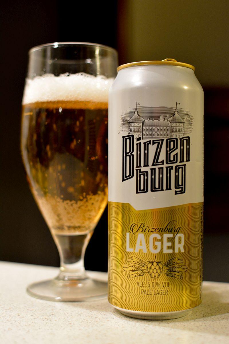 Пиво Birzenburg Lager