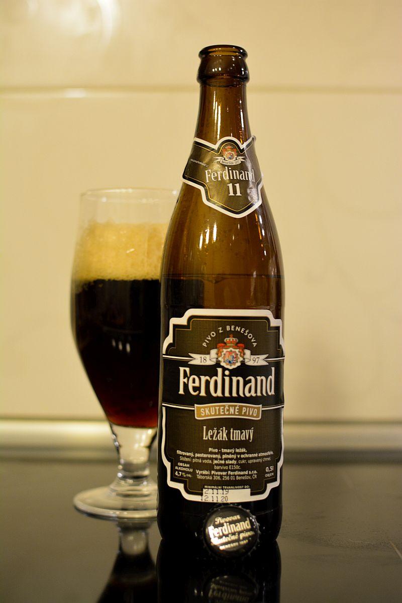 Пиво Ferdinand Tmavý ležák 11%