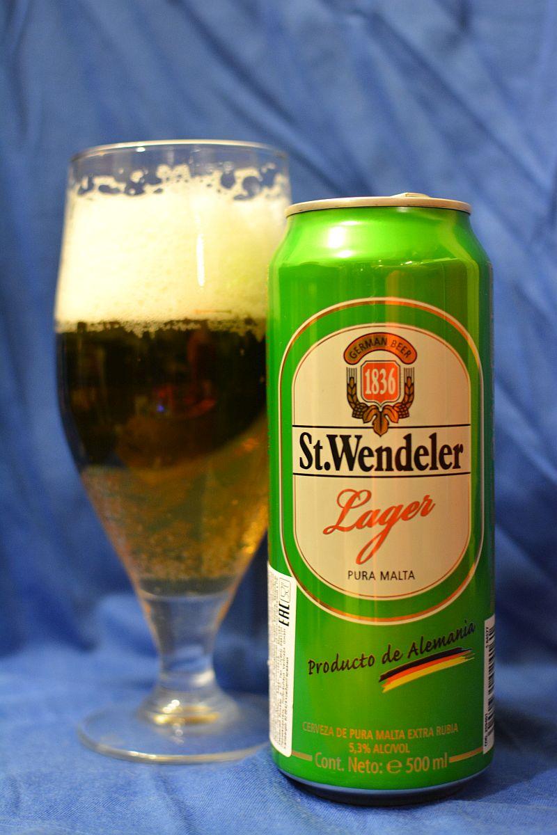 Пиво St. Wendeler Lager