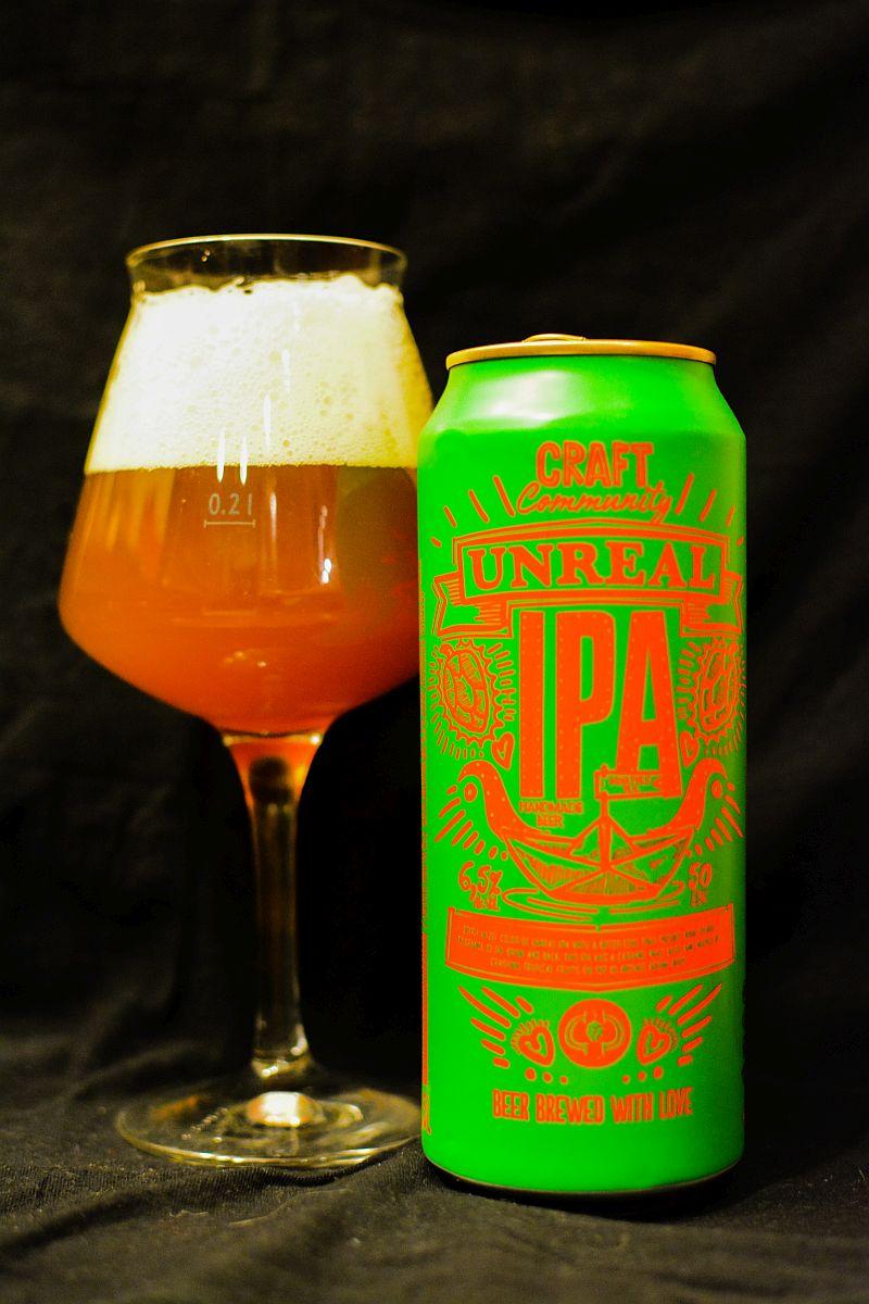 Пиво Craft Community Unreal IPA