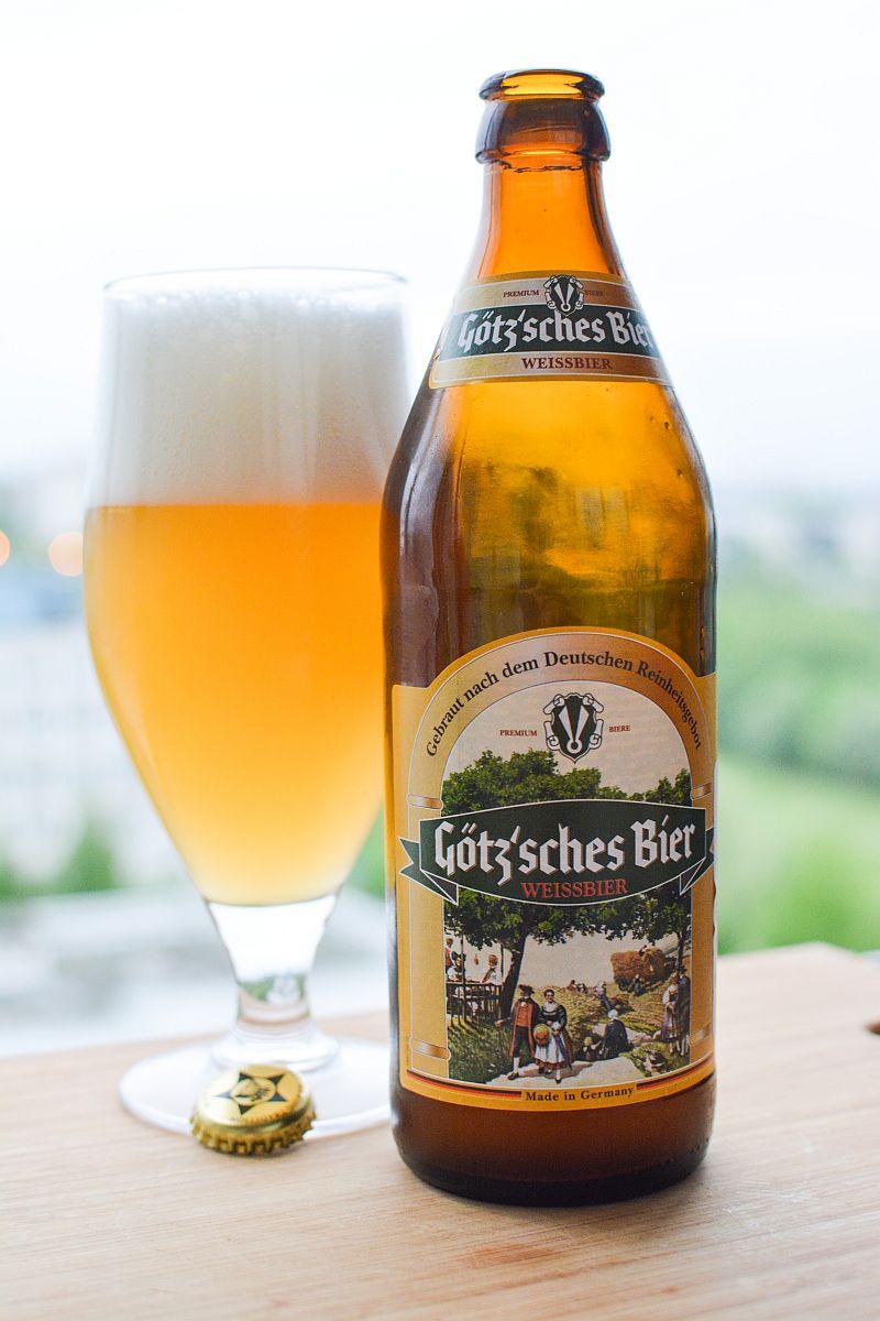 Пиво Götz'sches Bier Weissbier