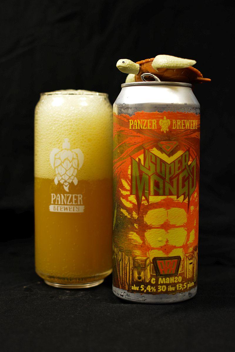 Пиво Panzer Super Mango