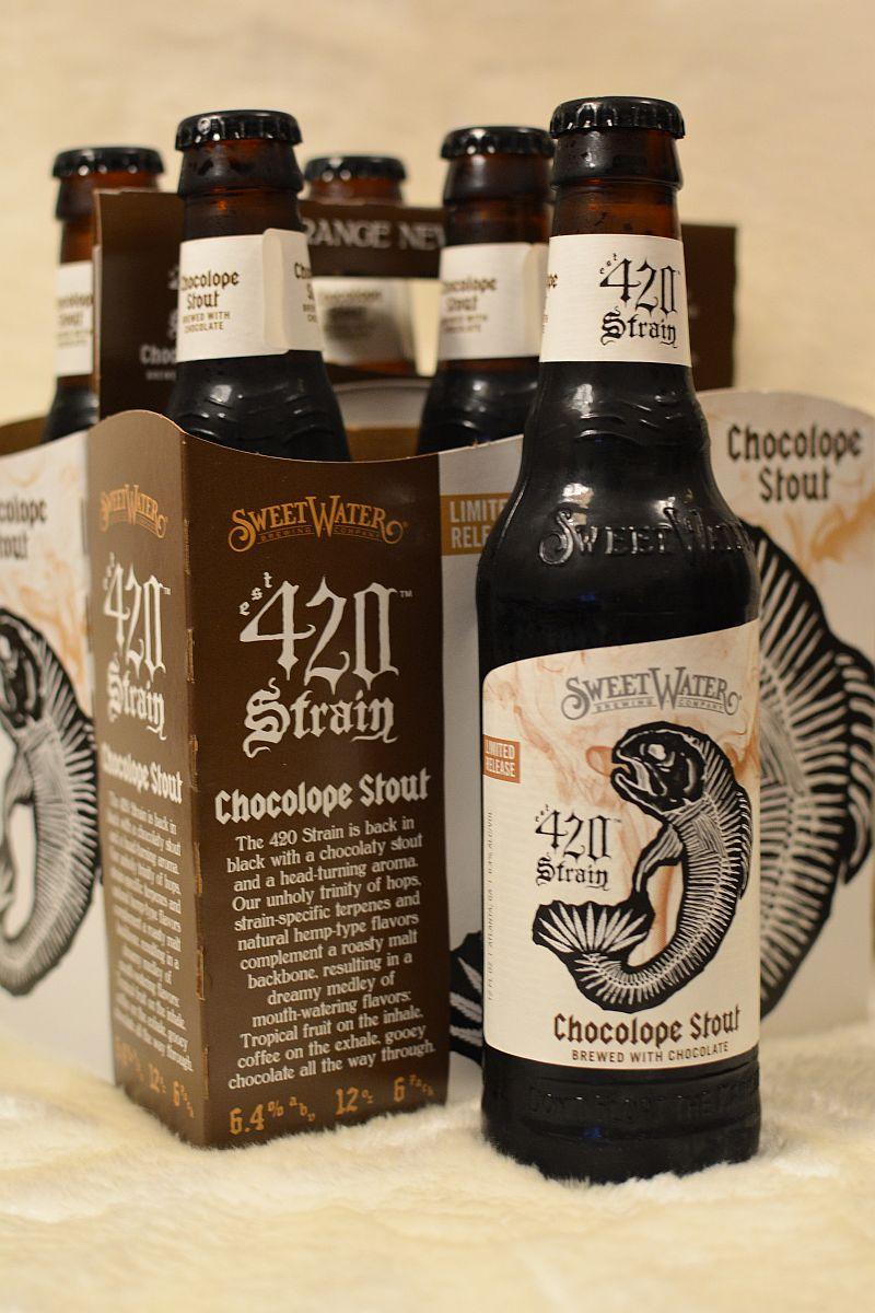 Пиво SweetWater 420 Strain Chocolope Stout