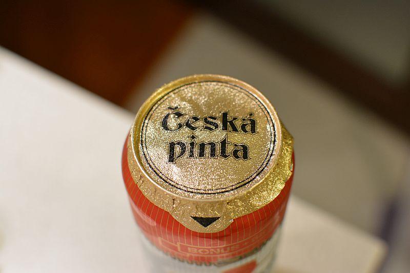 Пиво Česká pinta