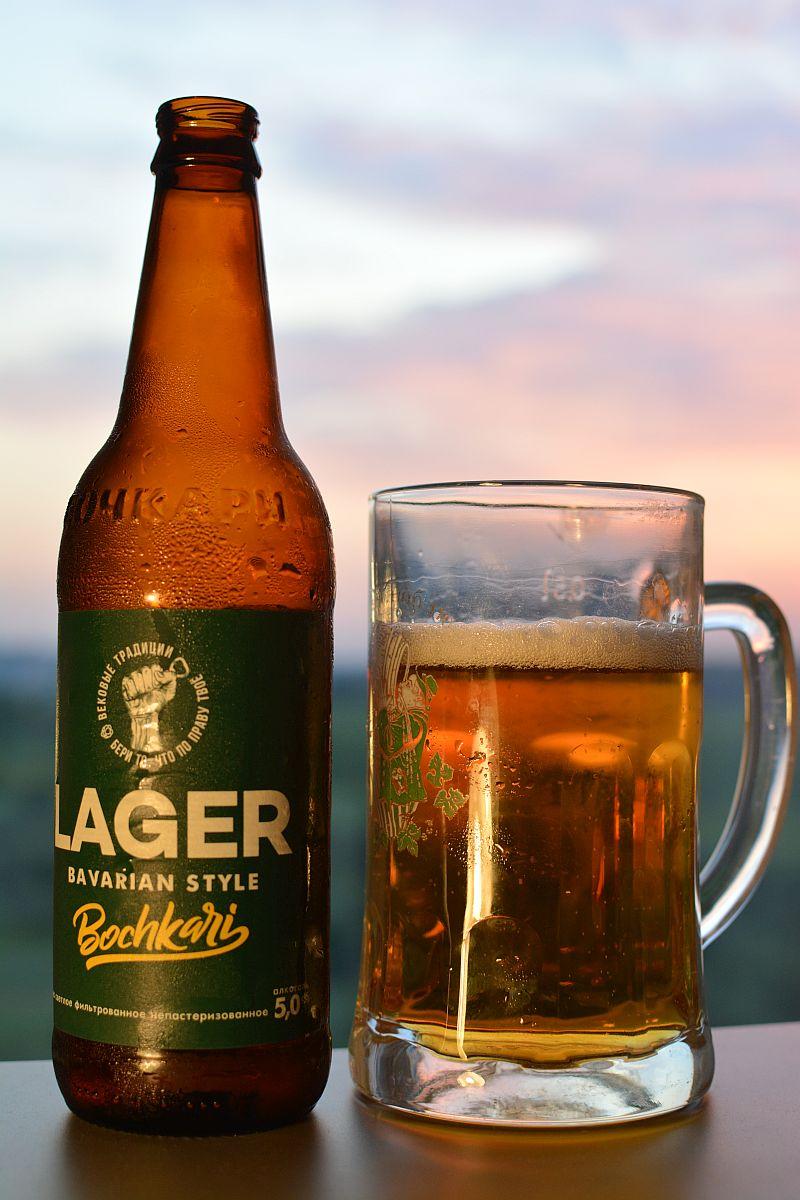 Пиво Бочкари Lager Bavarian Style