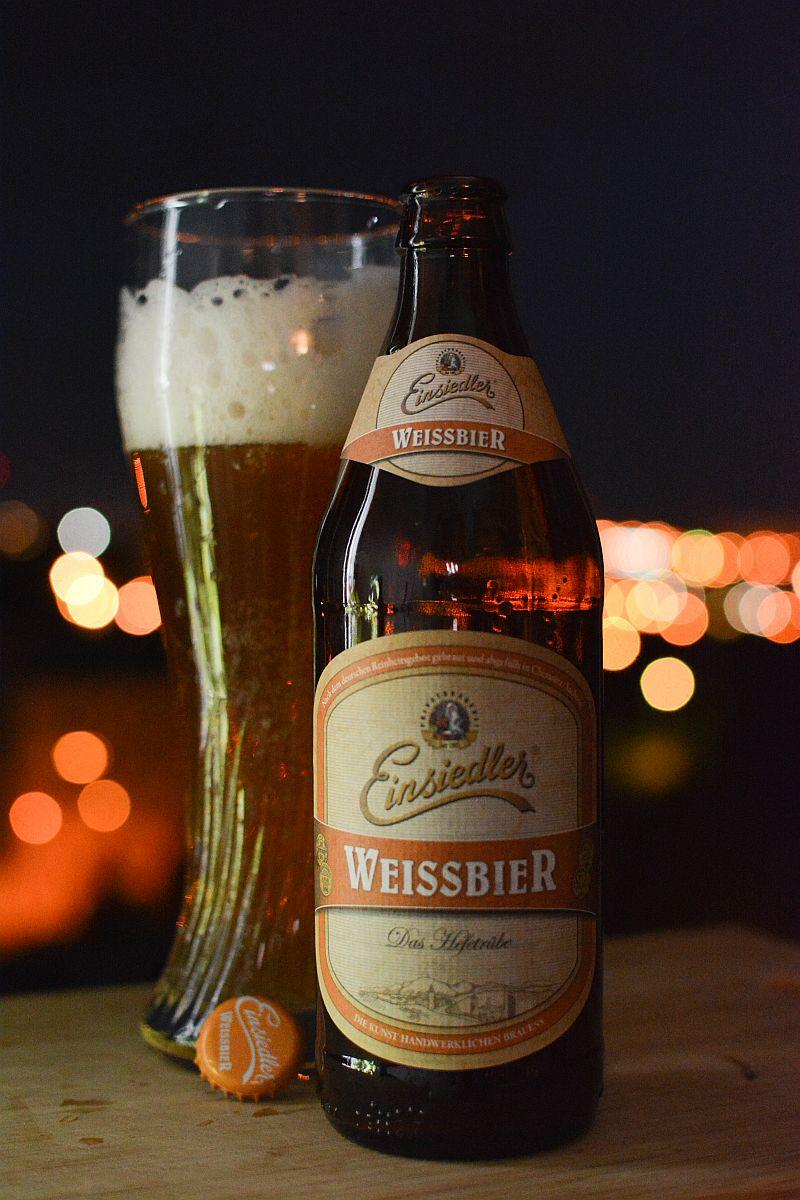 Пиво Einsiedler Weissbier
