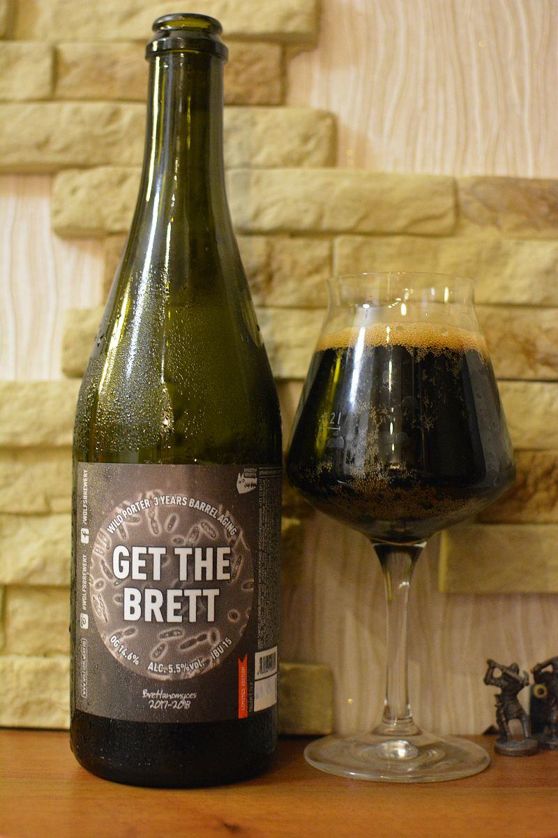 Пиво Get the Brett - Wolf's Brewery