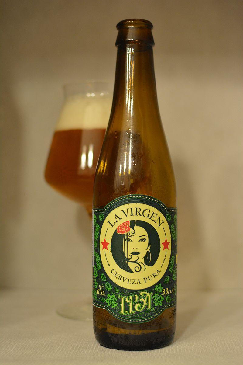 Пиво La Virgen IPA
