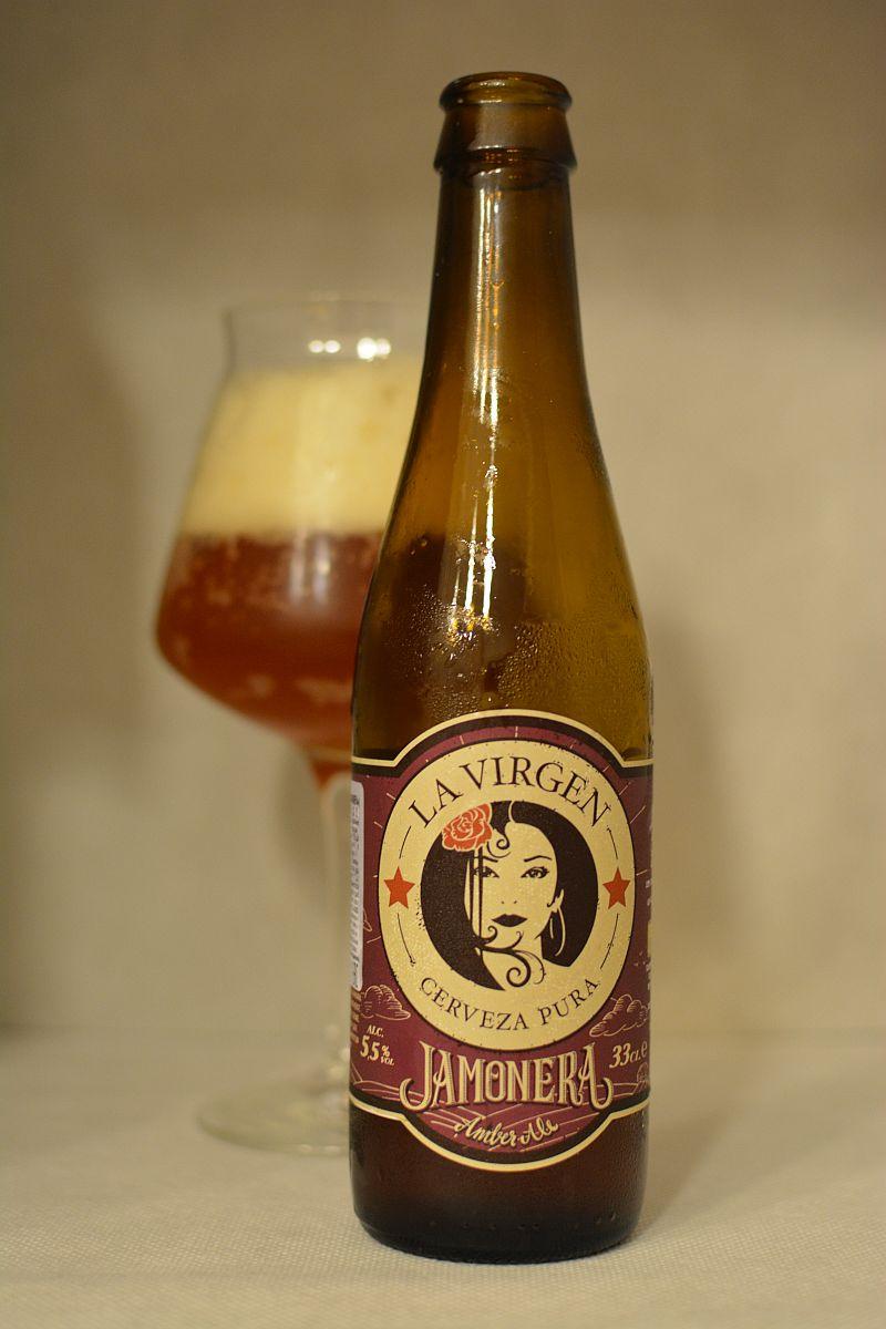 Пиво La Virgen Jamonera
