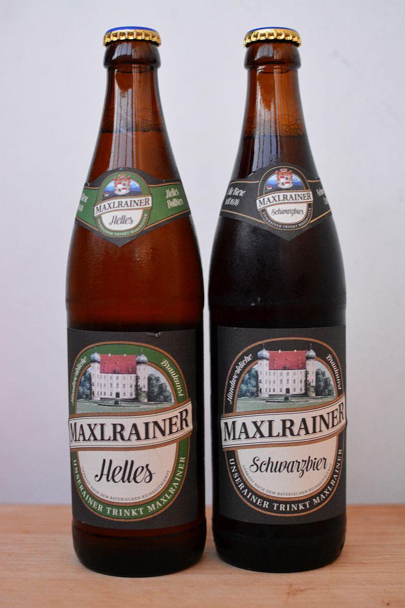 Пиво Maxlrainer Helles и Schwarzbier