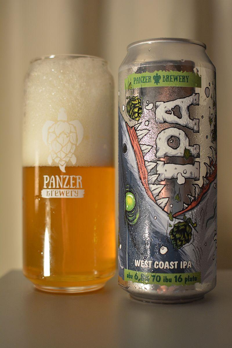 Пиво Panzer West Coast IPA
