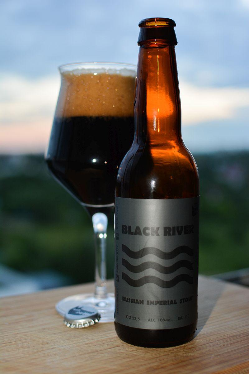 Пиво Black River