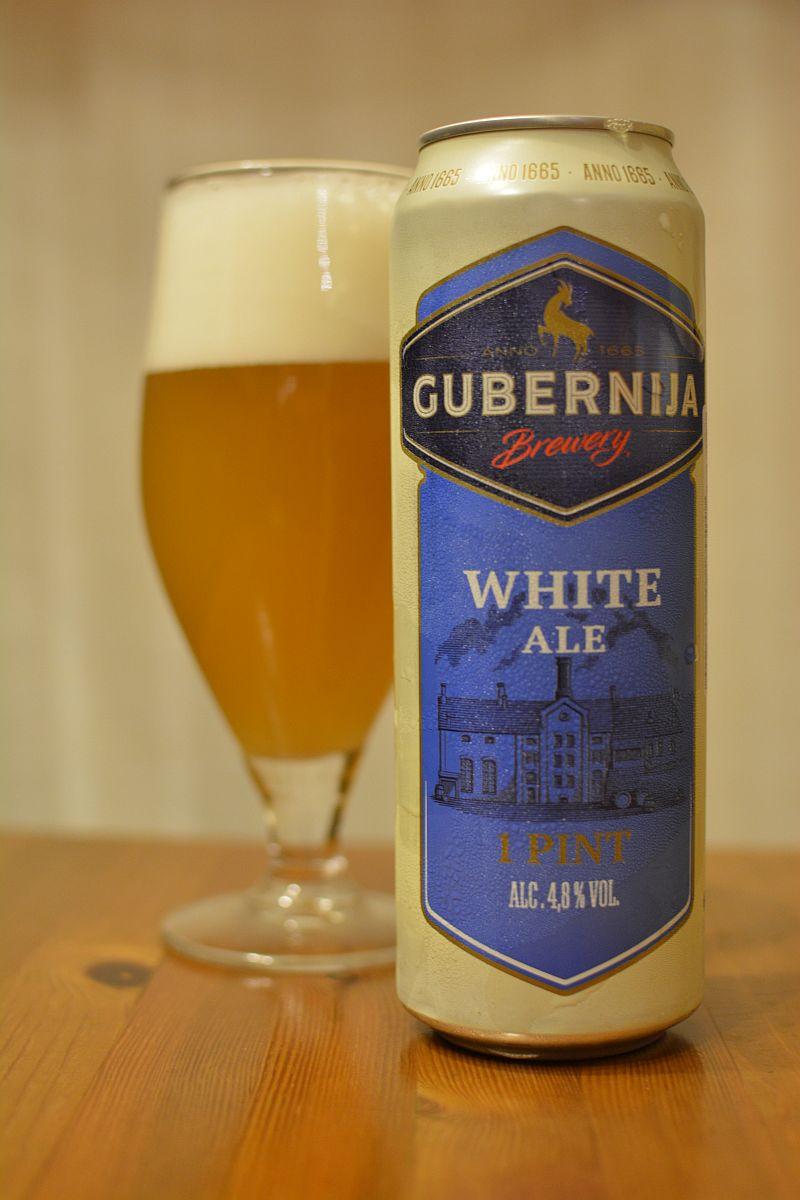 Пиво Gubernija White Ale