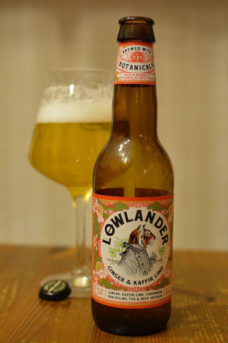 Пиво Lowlander Ginger & Kaffir Lime